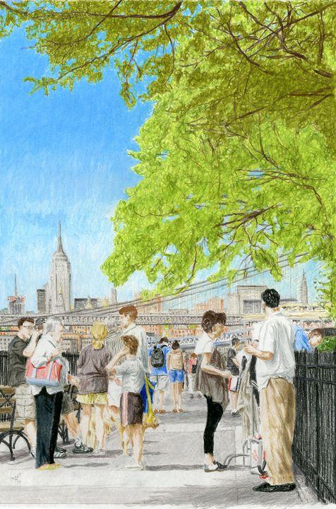 Promenade, Brooklyn - Jim Fischer