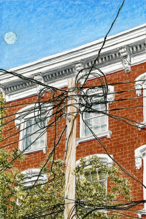 Pole, Carroll Gardens, Brooklyn - Jim Fischer