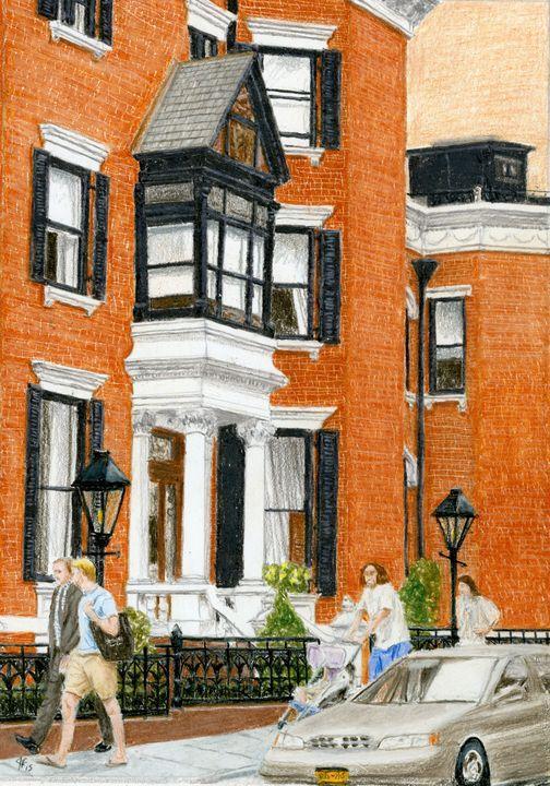 Brooklyn Heights Portico, Brooklyn - Jim Fischer