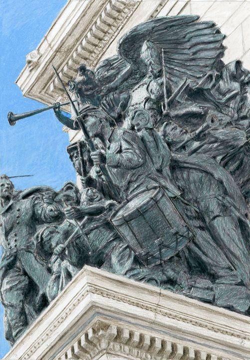 Grand Army Plaza Statue, Brooklyn - Jim Fischer