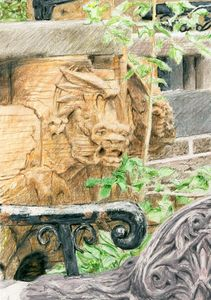 Gargoyle, Brooklyn Heights, Brooklyn