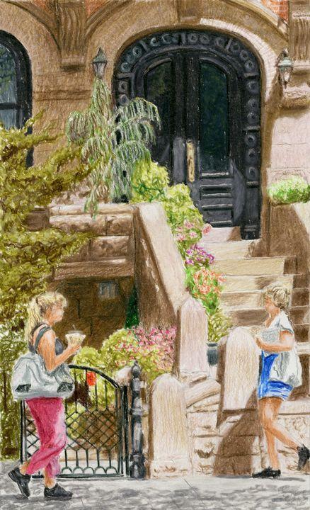Brownstone, Park Slope, Brooklyn - Jim Fischer