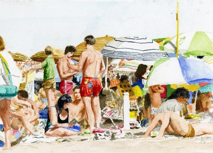 On The Sand - Jim Fischer