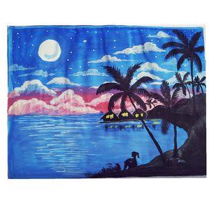 Beach moonlight