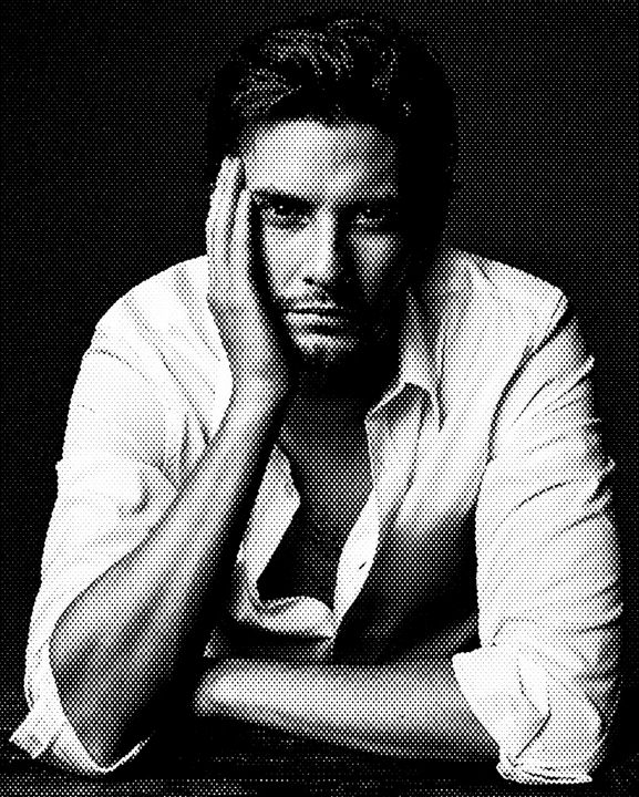 Ben Barnes Black & White Portrait - Saintiro