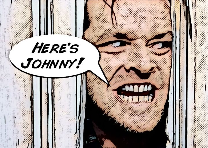 Here's Johnny! - Saintiro