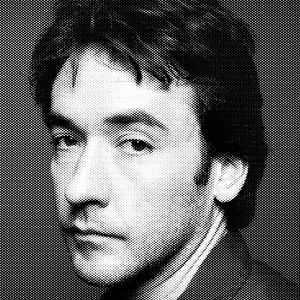 John Cusack Black & White Portrait