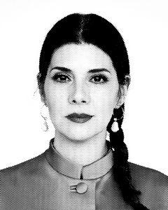 Marisa Tomei Black & White Portrait