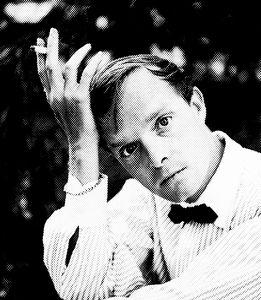 Truman Capote Black & White Portrait