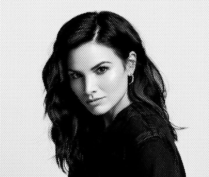 Katrina Law Black & White Portrait - Saintiro