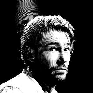 Black & White Peter O'Toole Portrait