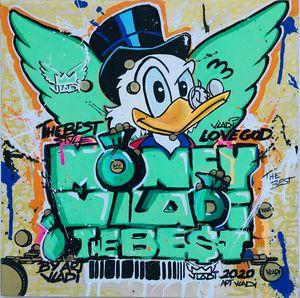 Money Donald Duck by ARTVLADI