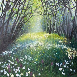 Seasons Spring Woodland Wildflowers