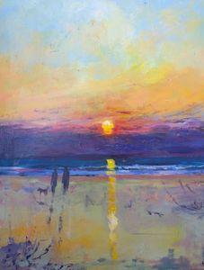 Sunset Beach Walk Original