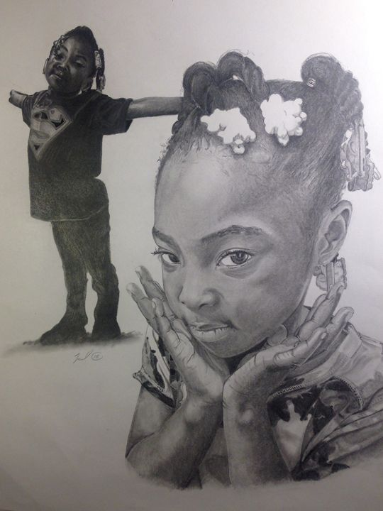 It's Me!! - Artwork by Torrey Bird Ward