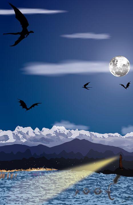 The Night Sky - Chas Harold