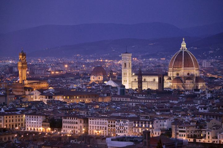 Florence at Dusk - Chris Urban