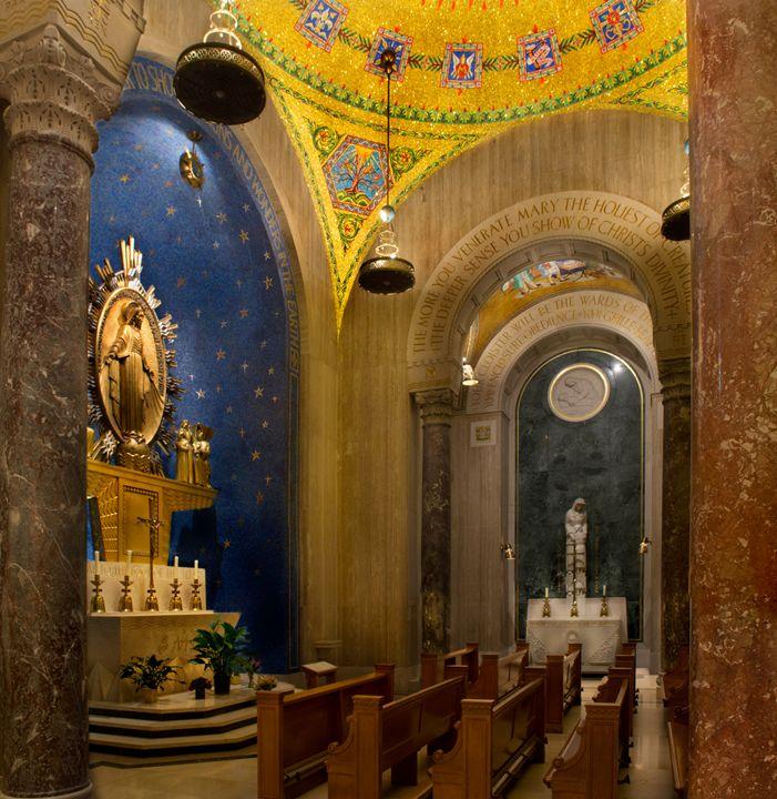 Chapel of the Miraculous Medal - Chris Urban