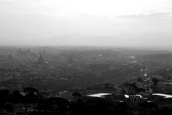 Rome Through the Fog - Chris Urban