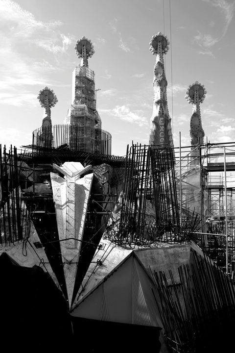 Sagrada Familia Construction - Chris Urban