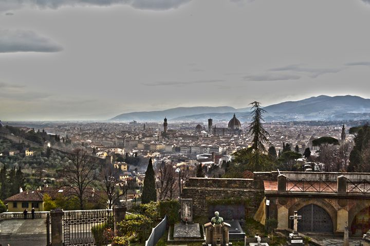 Florence From the Hill - Chris Urban