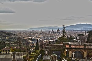 Florence From the Hill