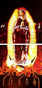 """""""La virgen de al Coca-Cola"""""""