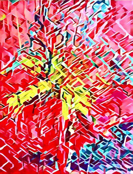 Bursting Palm - Mastagni Fine Arts