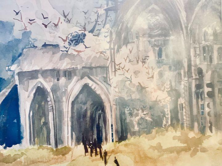 Cathedral Ghosts - Mastagni Fine Arts