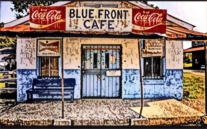 Old Cafe - Mastagni Fine Arts