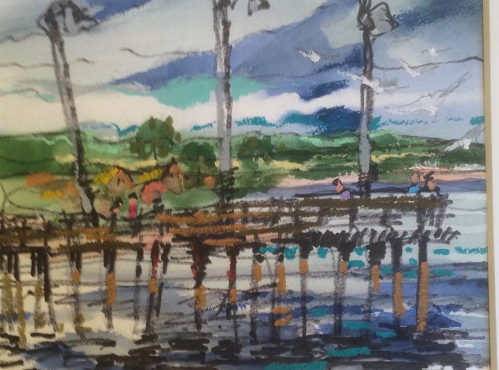 Cayucos Pier - Mastagni Fine Arts