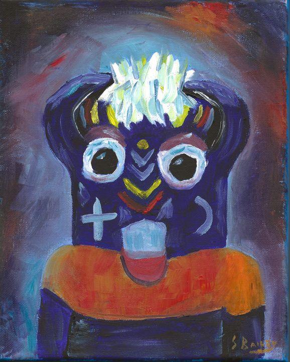 Ho-O-Te Kachina - Steve Bailey Art