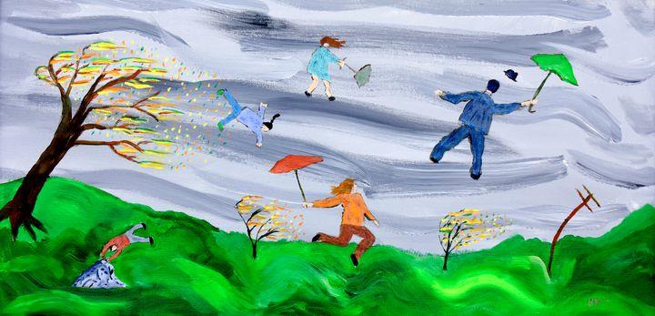 Breezy Day in Las Cruces - Steve Bailey Art
