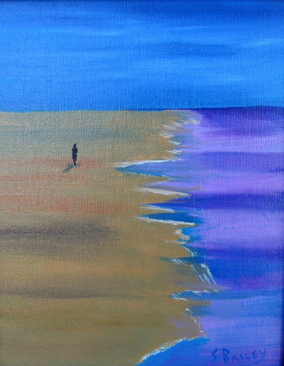 Lonely Beach - Steve Bailey Art