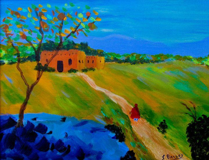 Returning Home - Steve Bailey Art