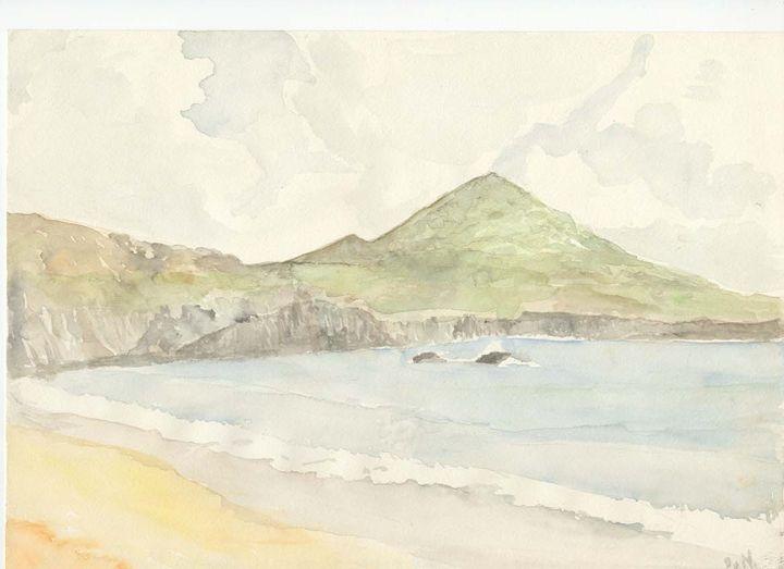 Beach in Ireland, Waterville. - Piers' Art
