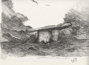 Burren, dolmen