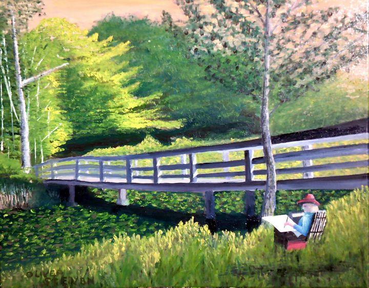 Bridge Painter - Oliver Steven Merriam
