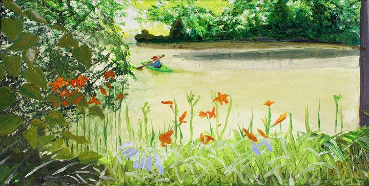 Joan's Garden - Oliver Steven Merriam