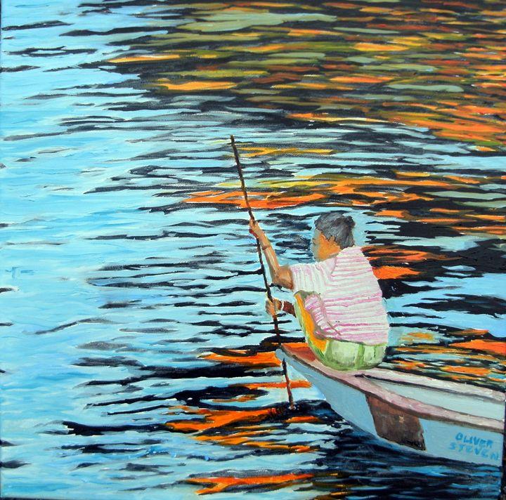 Boat Woman No. 2 - Oliver Steven Merriam