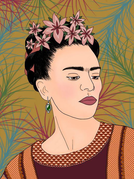 Frida Kahlo - EwelinaPo