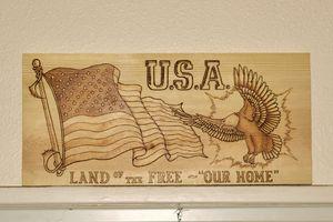 U.S.A. Our Home - M.E. Workman