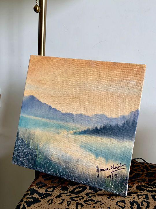 Mountains - Gracie's Art Shop
