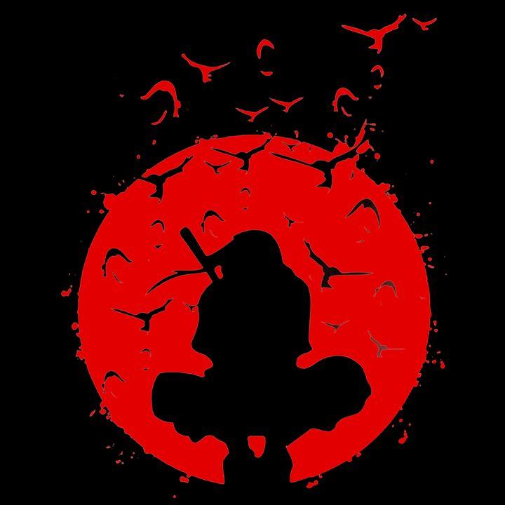 Itachi Uchiha Red - beNice