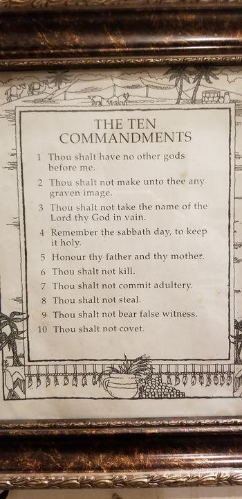 The Ten Commandments - Richard III Galleries