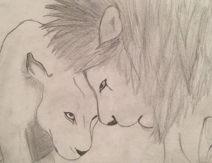 Lioness love - Tarin Pellett