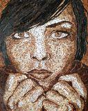 Scrabble Tile Mosaic