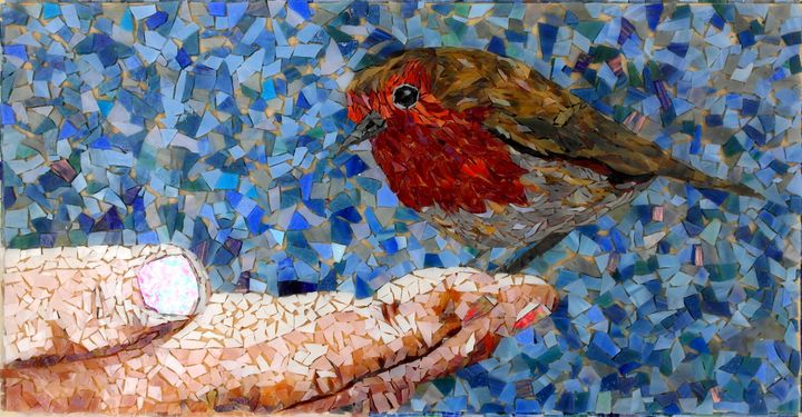 Perch - Monique Sarfity Mosaics