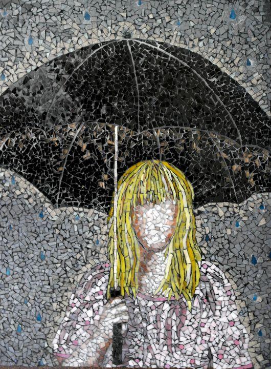 Umbrella - Monique Sarfity Mosaics