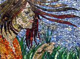 Recycled Glass Mosaic